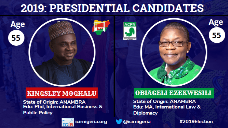 Many election promises of Obiageli Ezekwesili  and Kingsley Moghalu